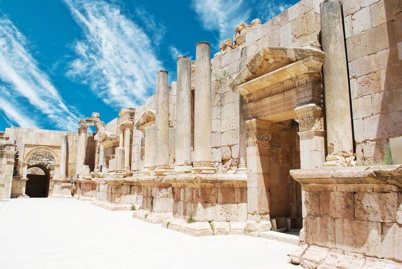 Jerash stock photography