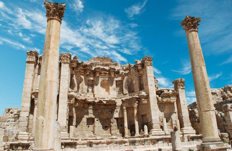 Download Jerash stock image. Image of cloud, landmark, culture - 21359015