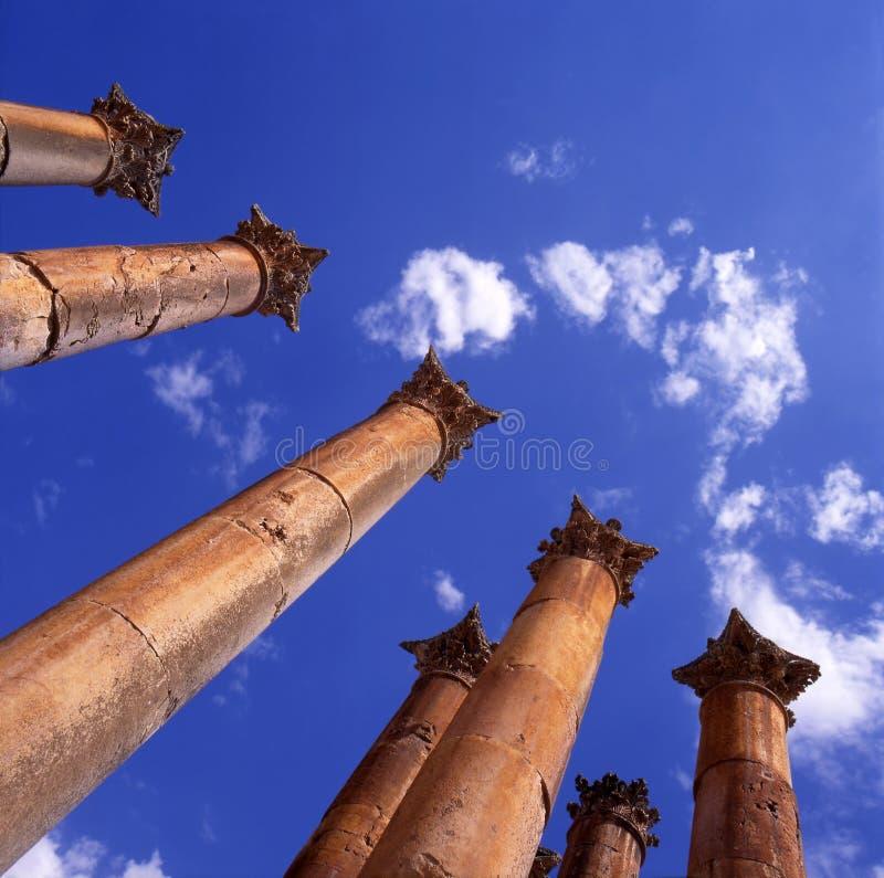 Jerash, Jordanië stock afbeelding
