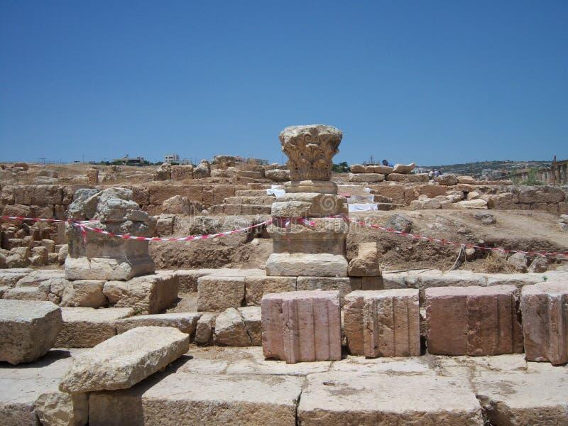 Jerash, Jordanien stockfotos