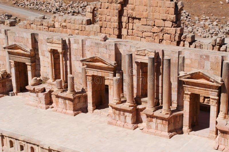 Jerash, le Gerasa de l'antiquité, Governorate de Jerash, Jordanie, Moyen-Orient photographie stock
