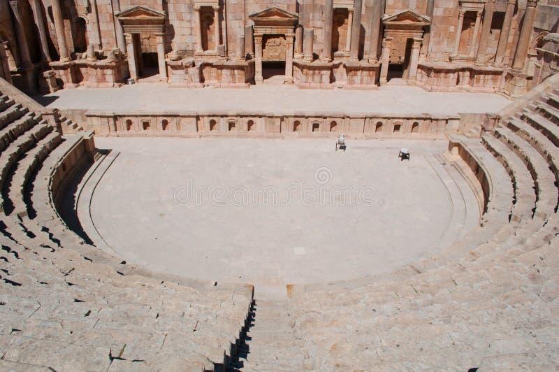 Jerash, le Gerasa de l'antiquité, Governorate de Jerash, Jordanie, Moyen-Orient photo stock