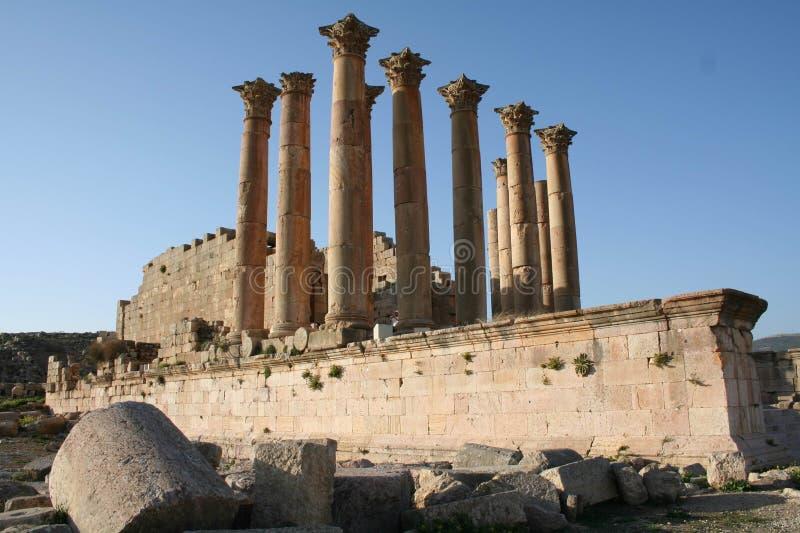 Jerash02 immagine stock