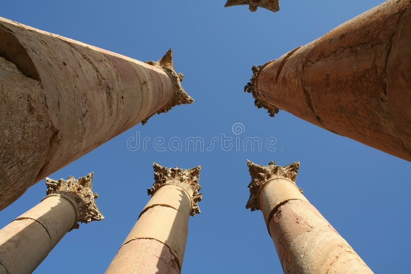 Jerash03 stock afbeeldingen