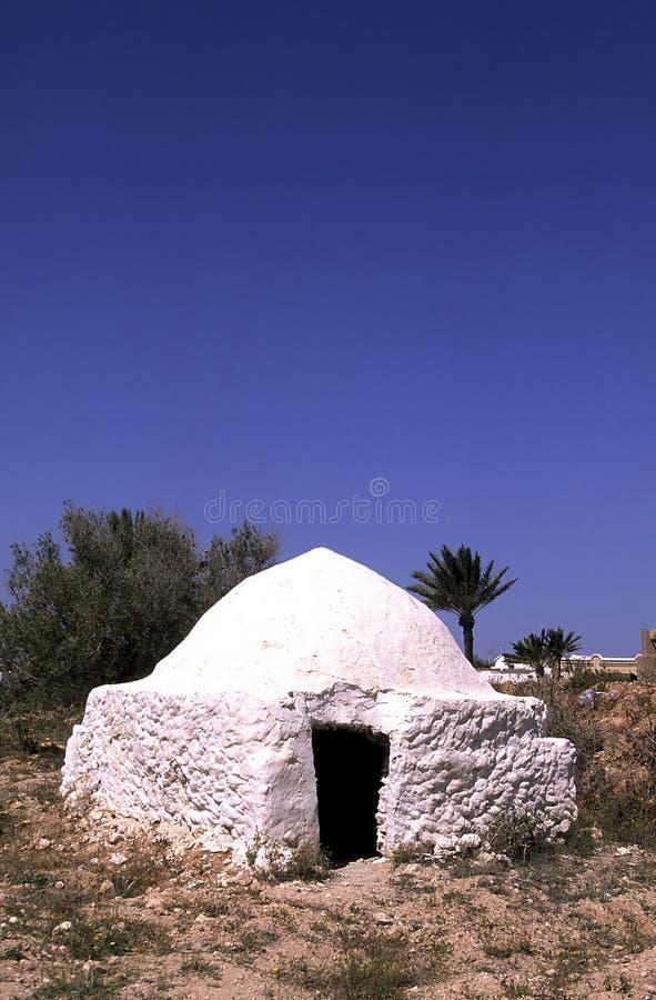 jerba Τυνησία σπιτιών στοκ φωτογραφίες