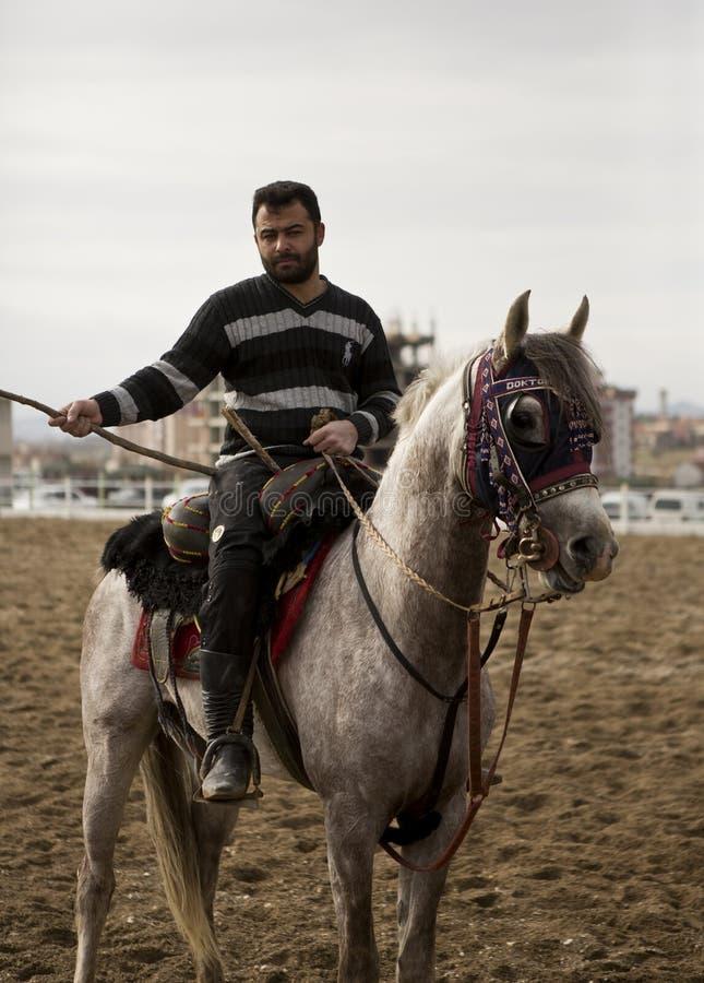 Jereed jeździec zdjęcie royalty free