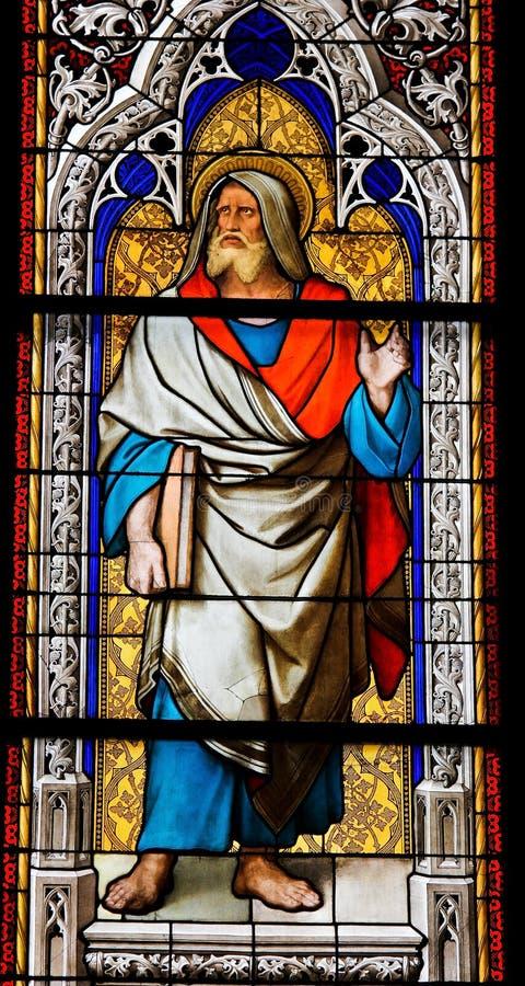 jeremiah profet royaltyfria bilder
