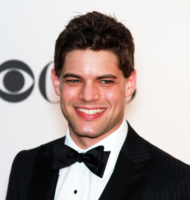 Jeremy Jordan. It's been a busy year for rising Broadway star, Jeremy Jordan. He had a starring role in the musical Bonnie and Clyde, and received a Tony stock images