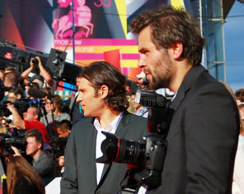 Jeremy Kleiner no festival de cinema de Moscou foto de stock