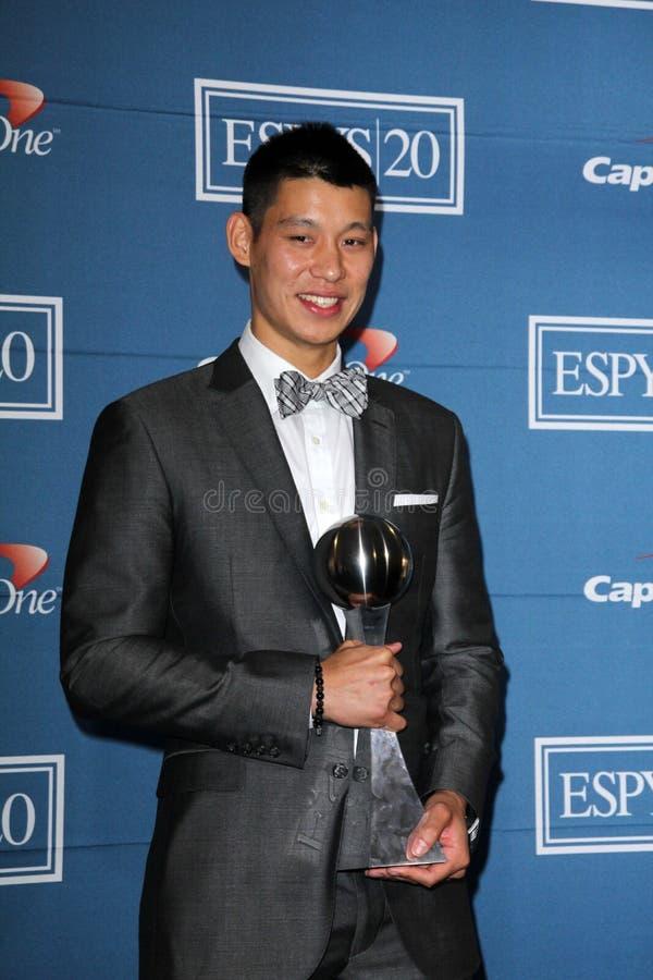 Jeremy Lin imagem de stock