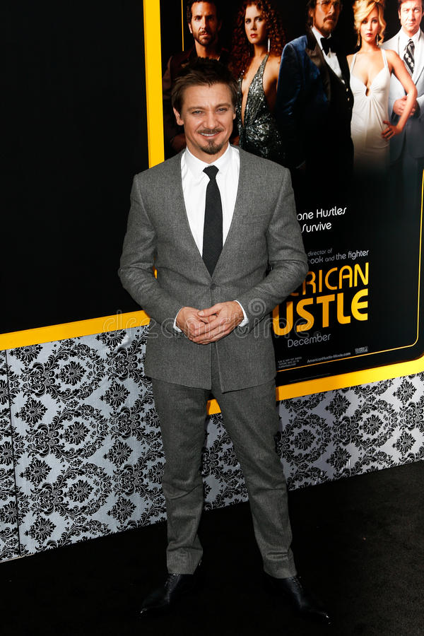 Jeremy Renner stock photo