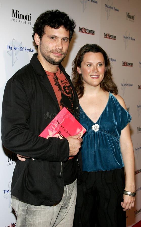 Jeremy Sisto e Jennifer Howell imagens de stock royalty free