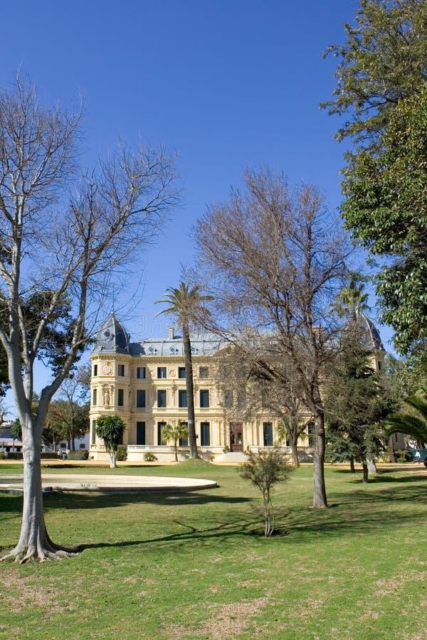 Jerez jeździeckiej wyniosła budować szkołę Hiszpanii fotografia royalty free