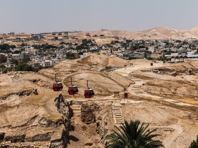 Jericó es una ciudad palestina situada cerca de Jordan River imagenes de archivo
