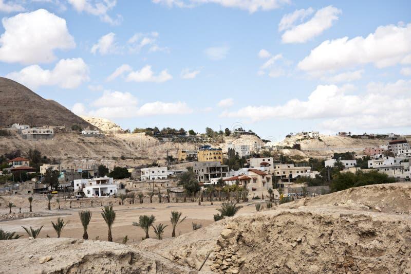 Jericó - la ciudad más vieja en el mundo foto de archivo libre de regalías