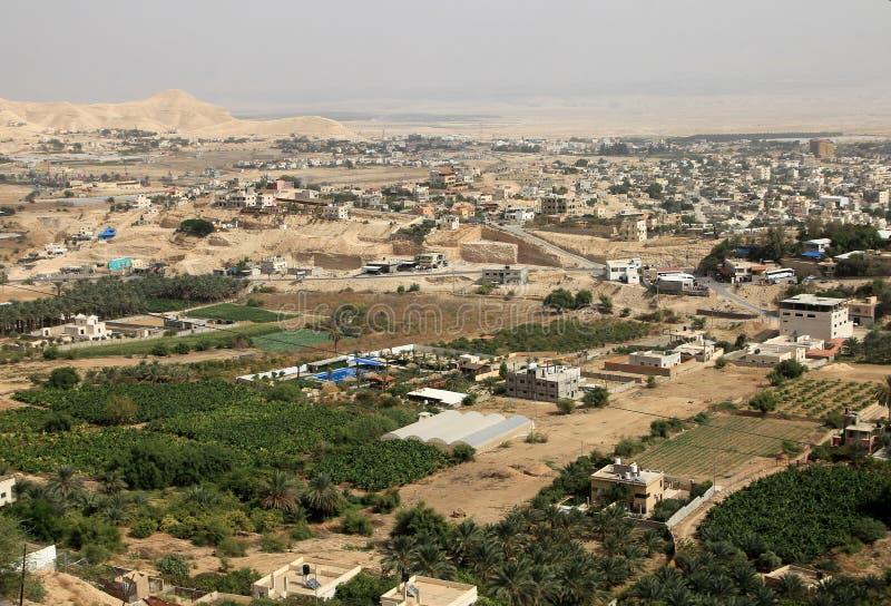 Jericho City foto de archivo libre de regalías