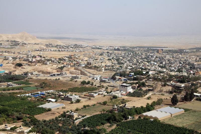 Jericho City imagen de archivo