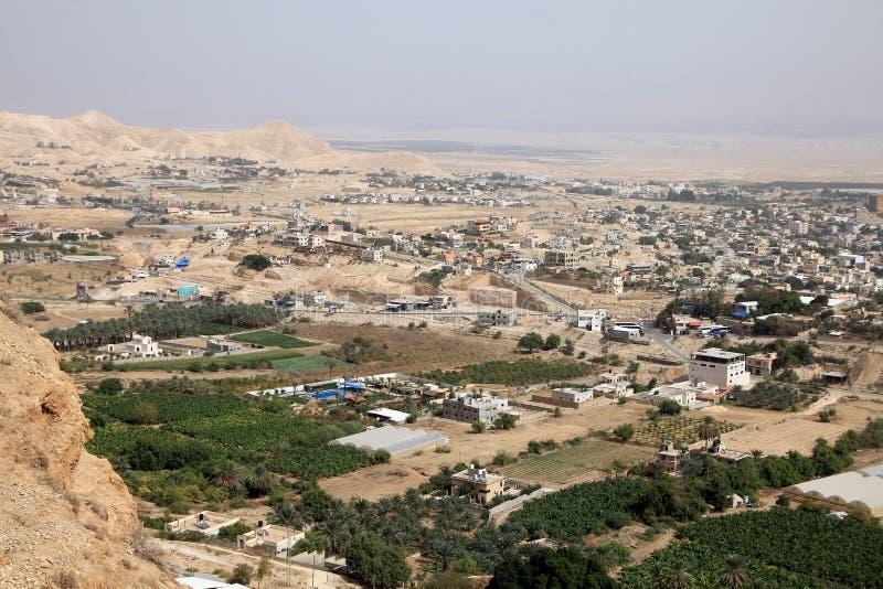 Jericho City fotos de archivo