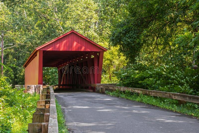 Jericho Covered Bridge photo libre de droits