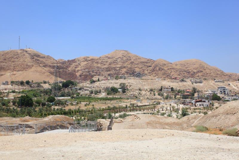 Jericho, der Berg der Versuchung, Judea stockfoto