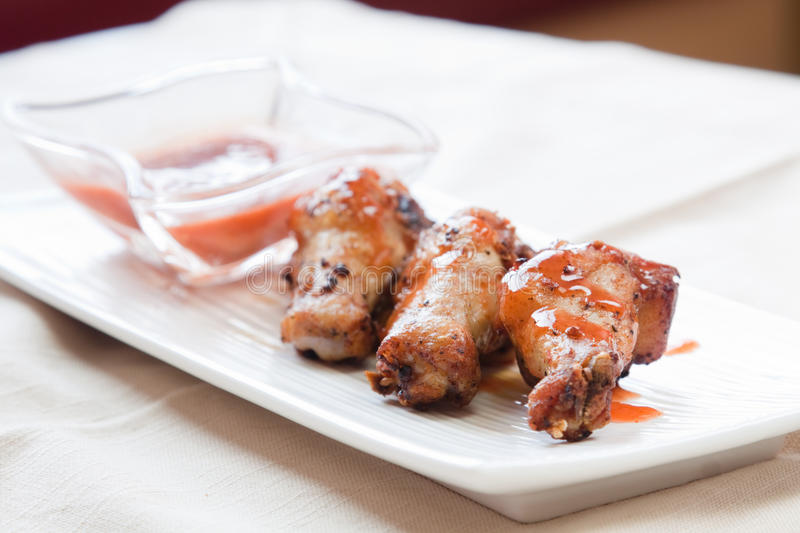 Download Jerk Chicken Wings - Caribbean Style Stock Image - Image: 28699081