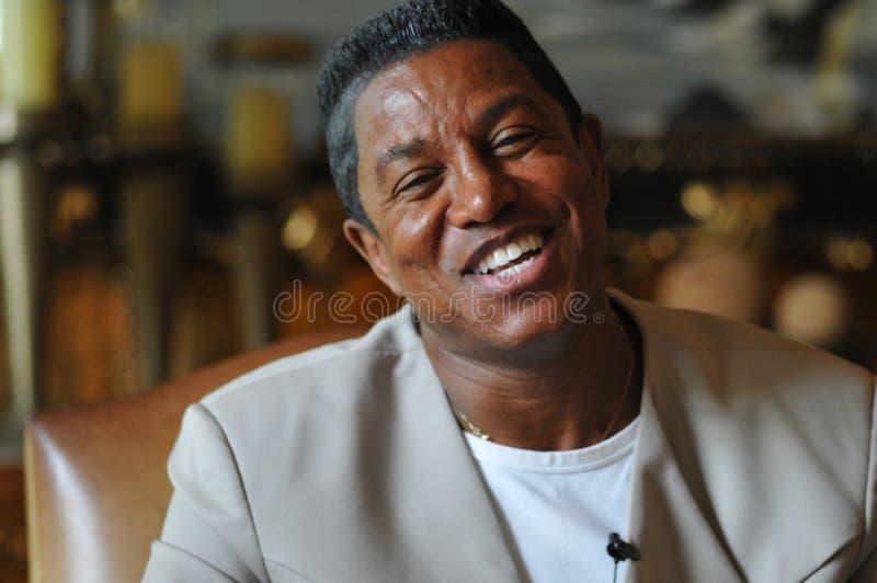 Jermaine Jackson royalty-vrije stock foto