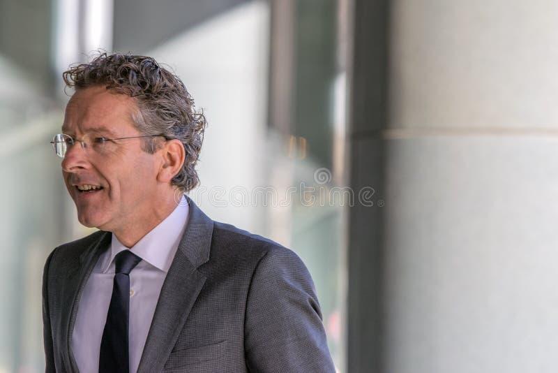 Jeroen Dijsselbloem At The Memorial-Zeremonie beim Concertgebouw in Amsterdam 27-10-2018 die Niederlande für den Tod von Wim Kok stockfotografie