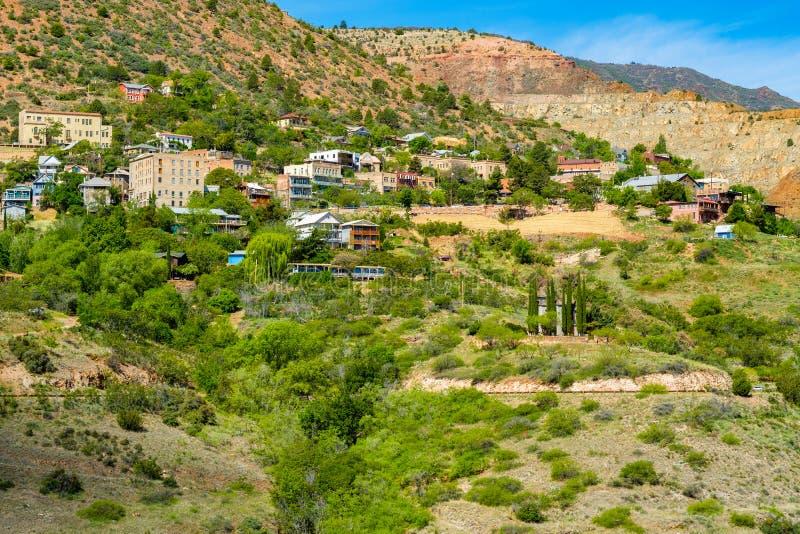 Jerome Arizona cityscape stock images