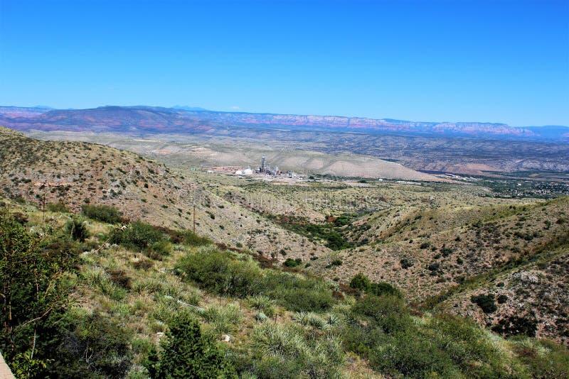 Jerome Arizona Górniczy region zdjęcie royalty free