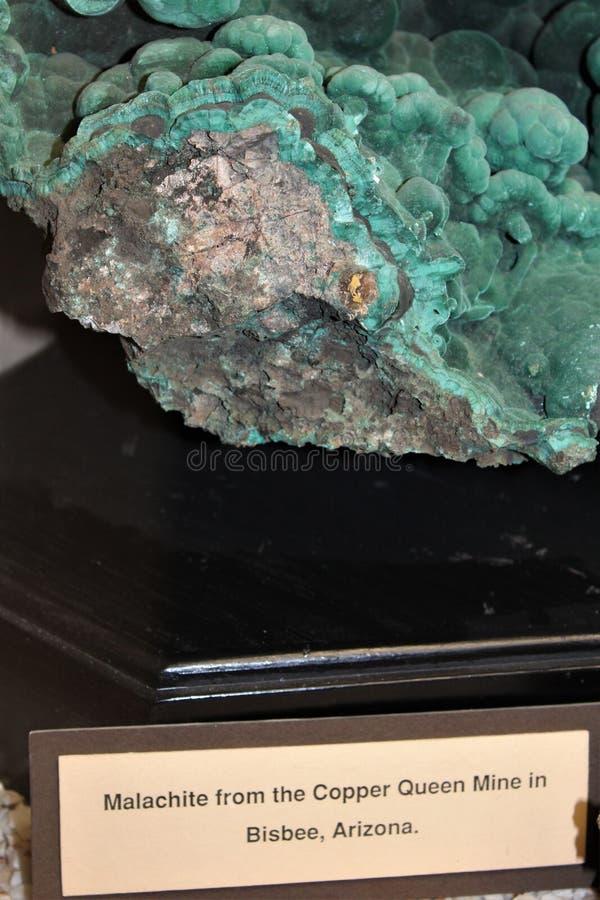 Jerome Arizona Mining Museum imagens de stock royalty free