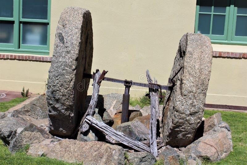 Jerome Arizona Mining Museum royalty free stock photos