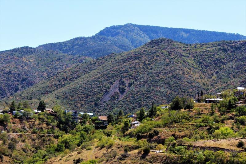 Jerome Arizona Mining Region imagens de stock