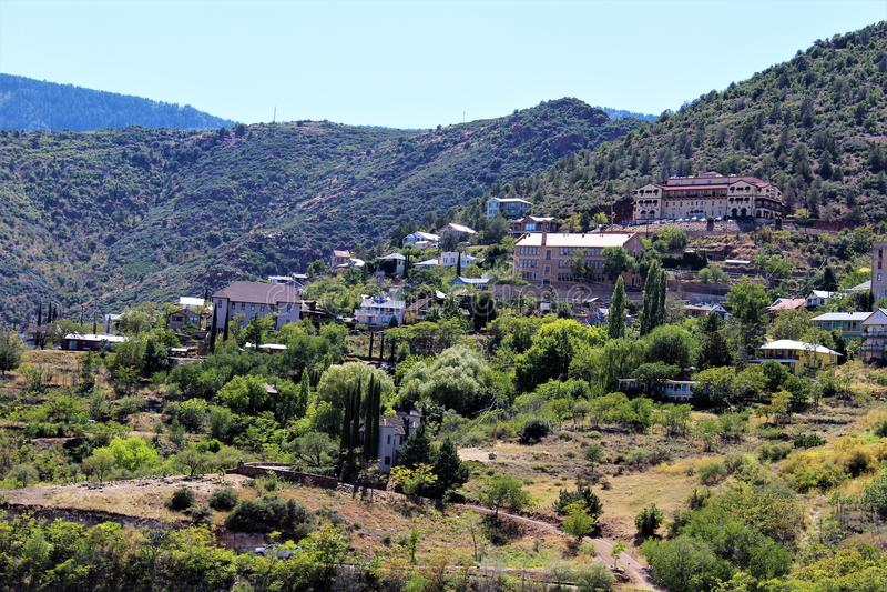 Jerome Arizona Mining Region royalty free stock image
