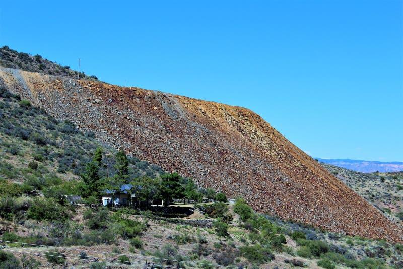 Jerome Arizona stanu Historyczny park obraz stock