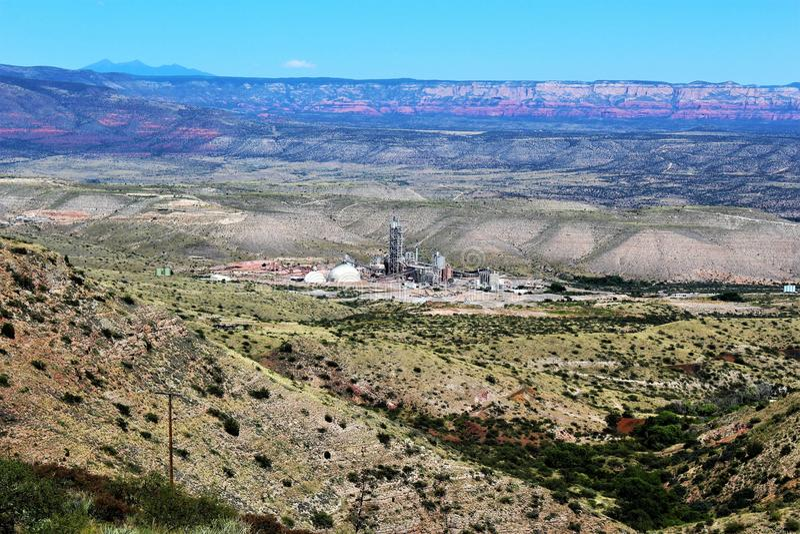 Jerome Arizona stanu Historyczny park fotografia stock