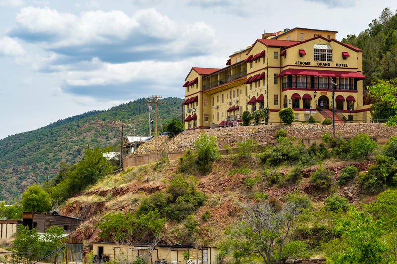 Jerome Grand Hotel royalty free stock image