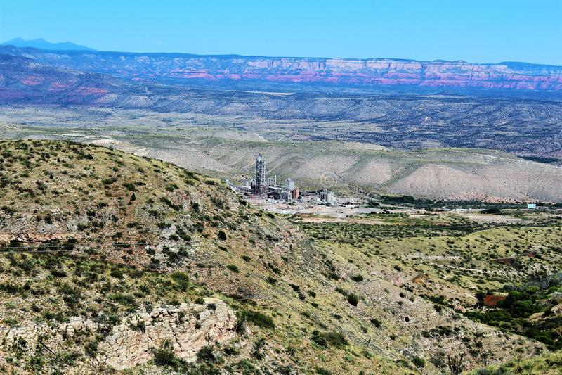 Jerome Arizona State Historic Park stock photography