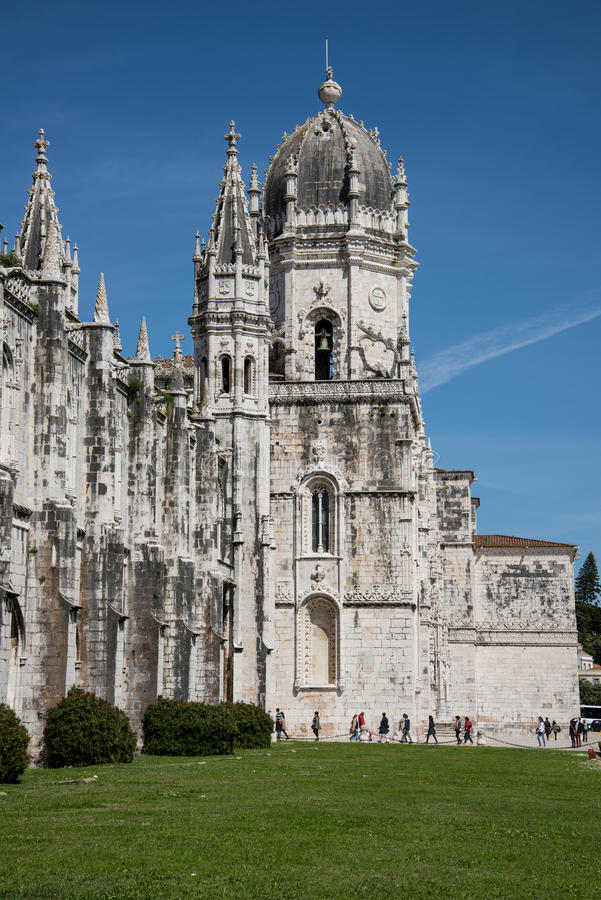 Jeronimos royaltyfria foton