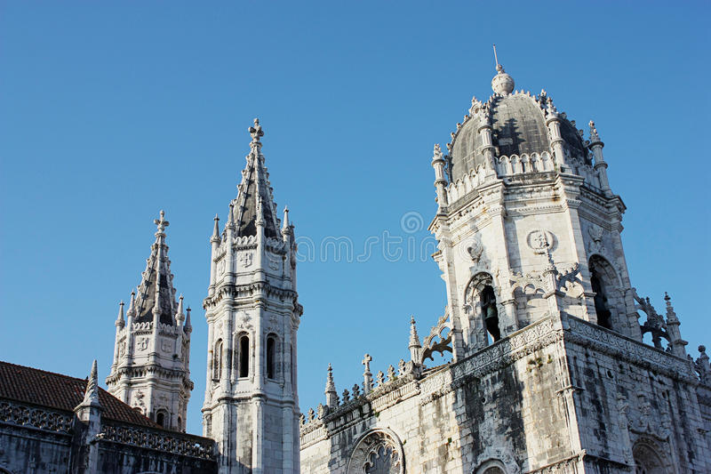jeronimos Lisbon monaster zdjęcie stock