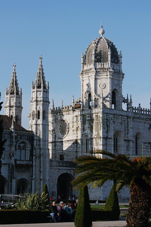 jeronimos Lisbon monaster zdjęcie royalty free