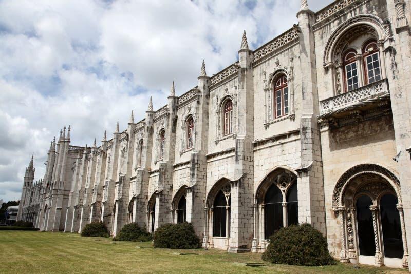 Jeronimos Monastery - Belem Lisbon Portugal Stock Photography