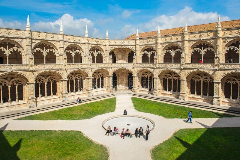 Jeronimos Monastery, Lisbon, Portugal royalty free stock images