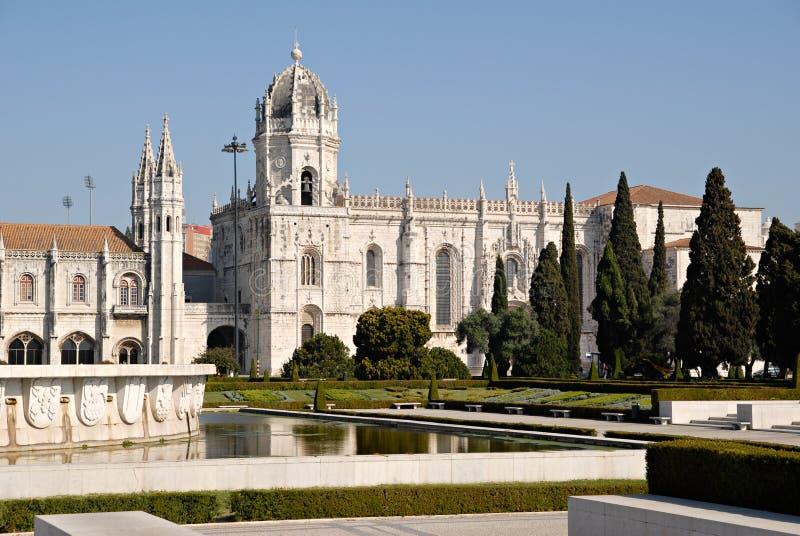 Jeronimos Monastery, Portugal. stock image