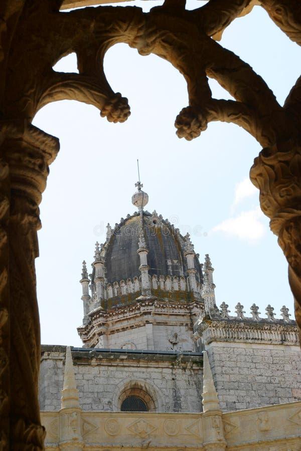 jeronimosklostersikt arkivbilder