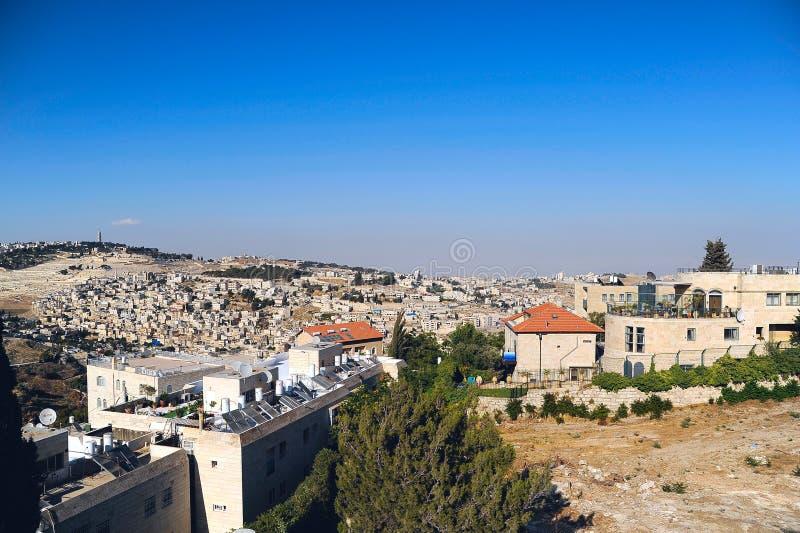 Jerozolima krajobraz zdjęcia royalty free