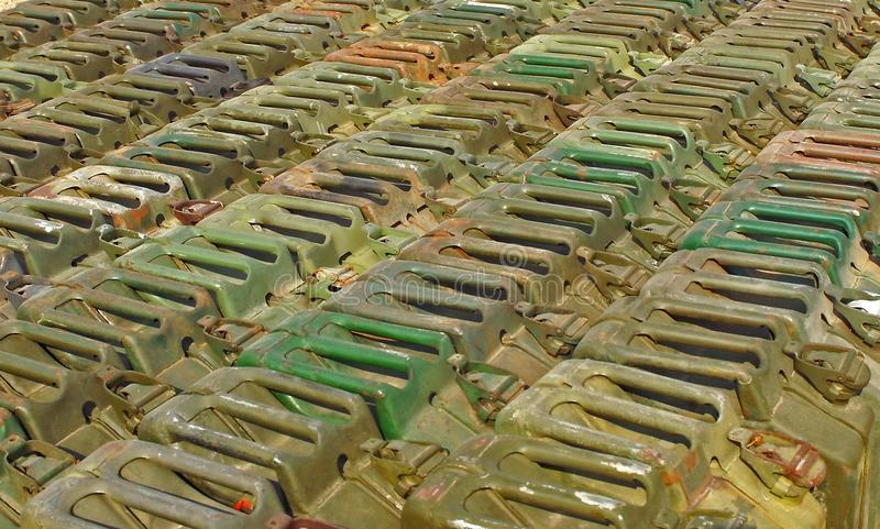 Download Jerry cans stock photo. Image of jerrycans, dump, petrol - 6699448