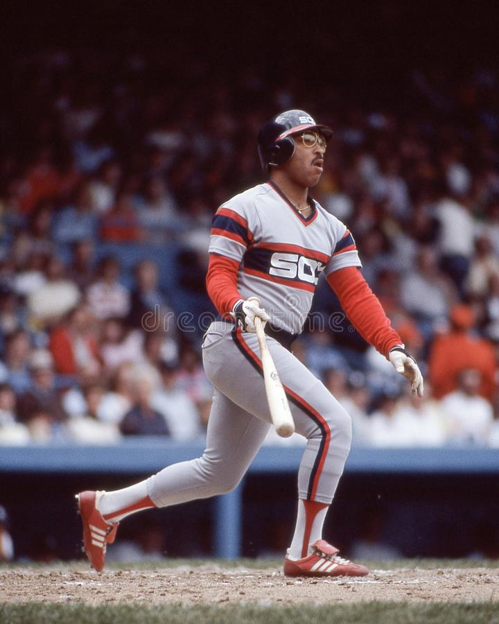 Jerry Hairston, Sr Chicago White Sox fotografia stock