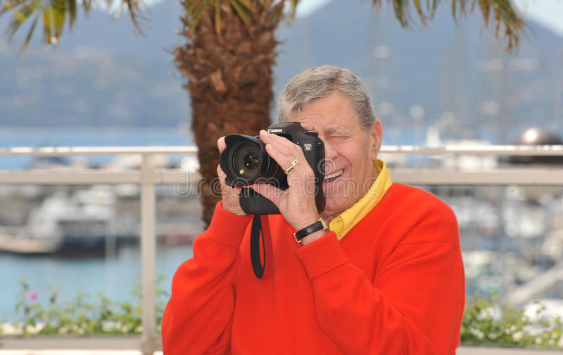 Jerry Lewis imagens de stock royalty free
