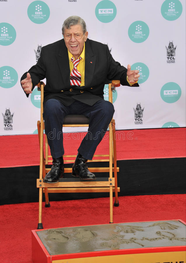 Jerry Lewis image stock