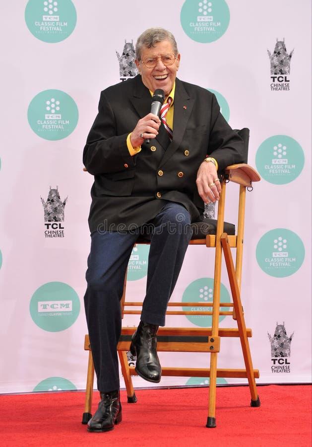 Jerry Lewis stockfoto